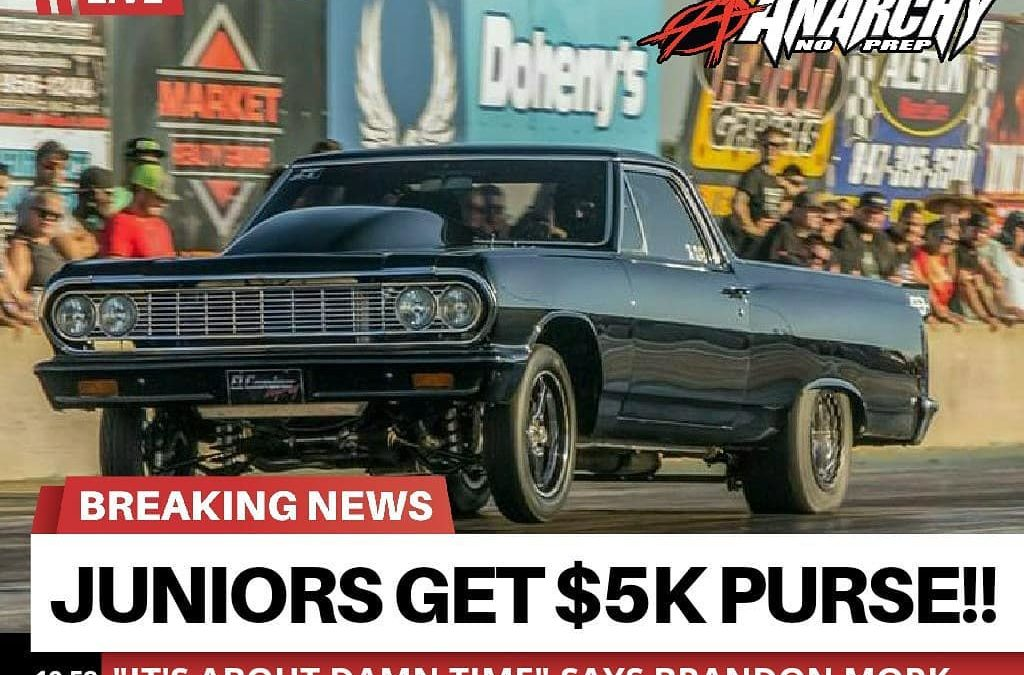 Juniors Get $5K Purse!