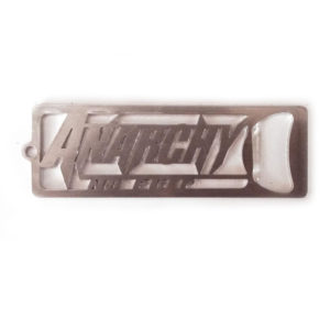 anarchy no prep-no prep drag racing- racing- no prep racing - keychain bottle opener